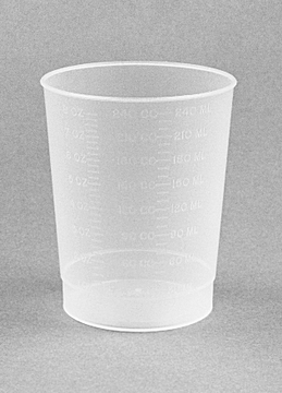 Intake Measuring Container, Polypropylene, 500/cs