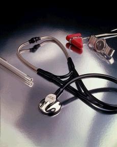 ADC 600BK ADSCOPE 600 Cardiology Stethoscope Black
