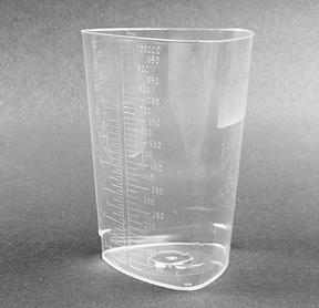 Triangular Measuring Container, Polypropylene, 200/cs