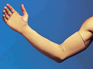 """Derma Sciences GL1000B Hand-Wrist (HW) Protector Beige 18L x 3""""W 12 pr/cs"""