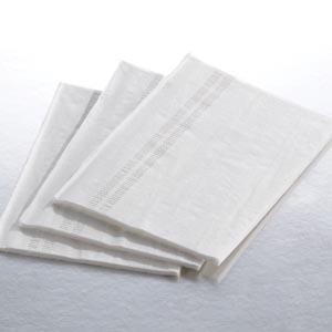 """Graham Medical 160 Tissue-Edge Embossed Towel 13½ x 18"""" White 3-Ply 500/cs"""