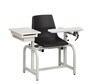 CLINTON STANDARD LAB SERIES BLOOD DRAWING CHAIRS