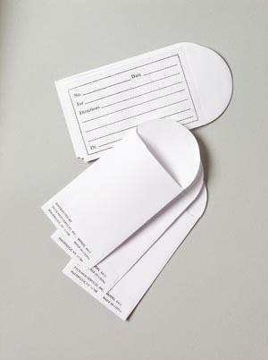 Printed Pill Envelope, 1000/bx