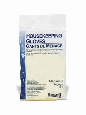 Ansell 8980 Housekeeping Gloves X-Large 12 Length 1 pr/pkg 12 pr/bx 12 bx/cs