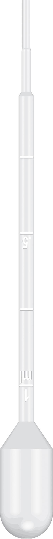 Graduated Pipet, 13.8cm Length, 3ml Capacity, Non-Sterile, 500/pk, 10 pk/cs