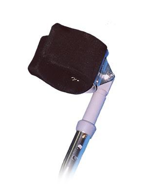 Crutch Mate II Forearm Crutch Gel Arm Crutch Pad, 1 pair