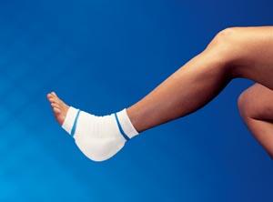Derma Sciences GL801 Heel/ Elbow Protector 11 Medium/ Large Blue 12 pr/cs