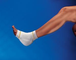 Derma Sciences GL800 Heel/ Elbow Protector 9 1/2 Small Yellow 12 pr/cs