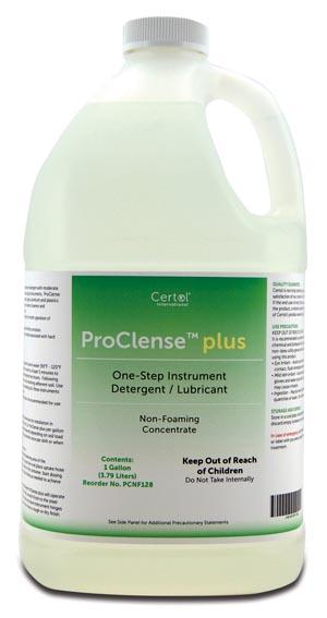 Certol PCNF128 Instrument Detergent 1 Gal Bottle 1 oz Pump 4/cs