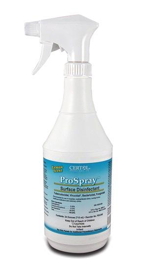 Certol PSC240 Disinfectant Pump Spray 24 oz 15/cs