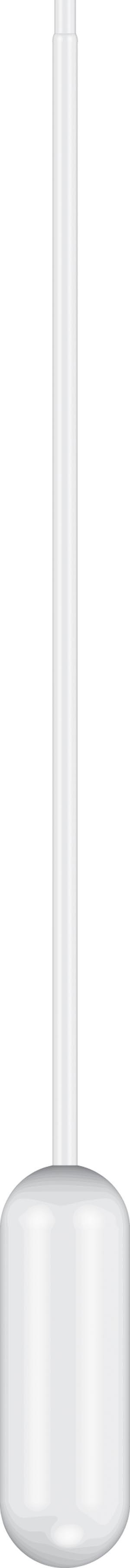 Pipet, 15.5m Length, 4mL Capacity, Non-Sterile, 500/pk, 10 pk/cs