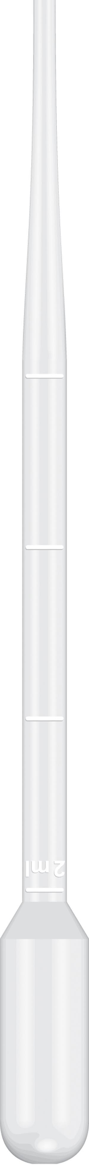 Pipet, 15.5cm Length, 5mL Capacity, Non-Sterile, 500/pk, 10 pk/cs