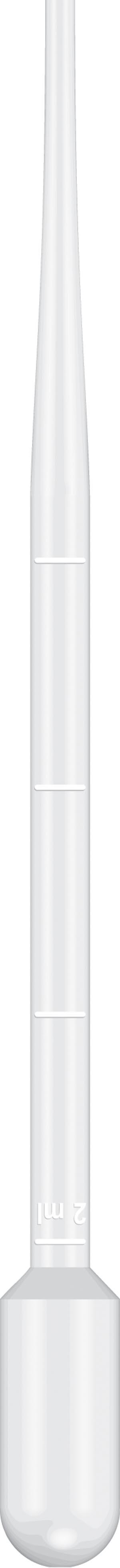 Graduated Pipet, 15.6cm Length, 5mL Capacity, Non-Sterile, 500/pk, 10 pk/cs