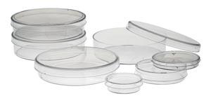 Petri Dish, 13 x 55mm, 20/slv, 25 slv/cs