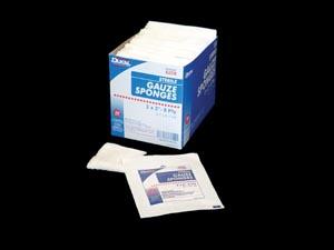 "Dukal 6208 Gauze Sponge 2 x 2"" Sterile 8-Ply 2/pk 50 pk/bx 30 bx/cs"