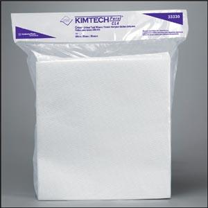 "Kimblery-Clark 33330 KIMTECH PURE CL4 Critical Task Wiper White 11½ x 12"" 100/pk 5 pk/cs"