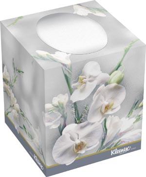 "Kimblery-Clark 21270 Kleenex Boutique Facial Tissue 8.4 x 8.6"" White 95/bx 36 bx/cs"