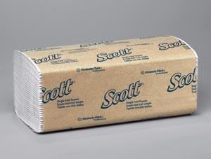 Kimblery-Clark 1700 Scott S-Fold Towels 1 Ply 250 Sheets/PK 16PK/CS