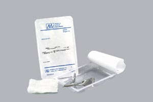"Staple Removal Kit Includes: (1) Staple Remover, (1) 3"" x 3"" 12-Ply Gauze, 50 kit/cs"