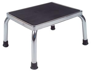 DeVilbiss 13030-1SV Deluxe Foot Stool 300 lb Weight Limit