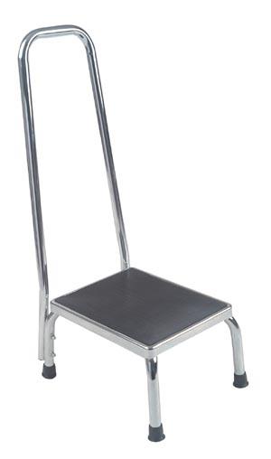 DeVilbiss 13031-1SV Foot Stool Handrail Assembled 300 lb Weight Limit