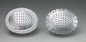 Fox Eye Shield, Aluminum, 12/bx