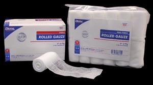 Dukal 402 Rolled Gauze 2 Non-Sterile 2-ply 12 rl/bg 8 bg/cs