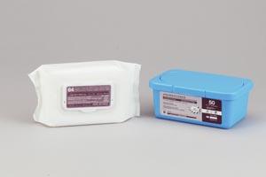 "AMD-Medicom A40001 Washcloth 10 x 13"" Pre-Moistened 50/tub 12 tub/cs"