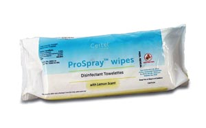 "Certol PSW Disinfectant Wipes Soft Pack 9 x 10"" 72/pk 12 pk/cs"
