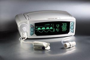 Smiths Medical 9004-001 Capnocheck Plus Capnograph/ Oximeter