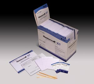 HemoCue 395066A Hemoccult ICT Patient Collection Screening Kit Contains: 40 Pt Envelopes Printed Instructions 3 Single Collection Devices Sample Sticks Collection Tissues & 1 Barrier Mailing Envelope (Expiry date lead 90 days)