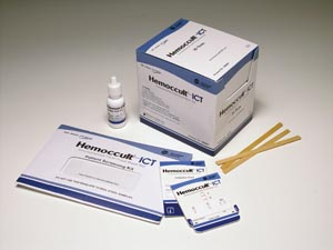 HemoCue 395067A Hemoccult ICT Test Kit Contains: 20 Single Test Cards 1 Bottle Buffer & Product Instructions (Expiry date lead 90 days) (Ships on ice)