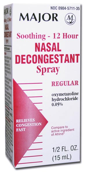 Nasal Decongentant, 12-Hour, 15mL, Compare to Afrin, NDC# 00904-5711-35