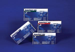 Glove, Disposable, Latex, Small, Powder Free (PF), Beaded Cuff, Ambidextrous, 100/bx, 10 bx/cs