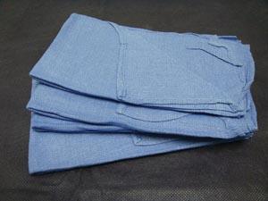 "ADI Medical 90002 O.R. Towel Blue 18 x 27"" 400/cs"