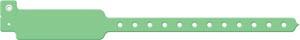 Wristband, Adult/ Pediatric, Write-On Vinyl, Green, 500/bx