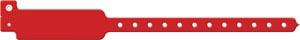 Wristband, Adult/ Pediatric, Write-On Vinyl, Red, 500/bx