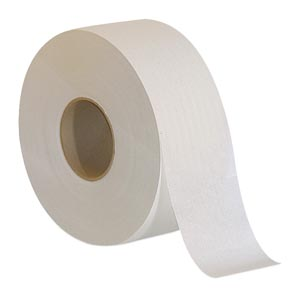 Georgia-Pacific 13728 Jumbo Jr. Bathroom Tissue 2-Ply White 3½ x 1000 ft 2000 sht/rl 8 rl/cs
