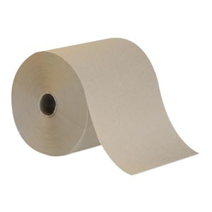 Georgia-Pacific 26301 Hardwound Roll Towels Brown 7.85 x 800 ft 6 rl/cs