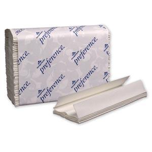 "Georgia-Pacific 20241 C-Fold Paper Towels Paper Band White 10¼ x 13½"" Sheets 200 ct/pk 12 pk/cs"