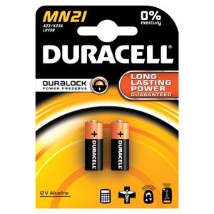 Battery, Alkaline, Size 12V, 2pk, 6pk/bx (UPC# 66150)