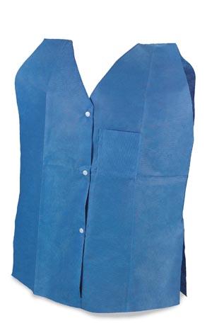 Exam-Rehab Vests, Non-Woven, X-Large, 10/bg, 5 bg/cs