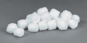 Cotton Balls, Medium, Non-Sterile, 2000/bg, 2 bg/cs