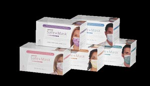 Medicom  2015 Earloop Mask Blue 50/bx 10 bx/cs