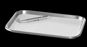 "Tray Cover, B Ritter 8  1/2"" x 12  1/4"" White, 1000/cs"