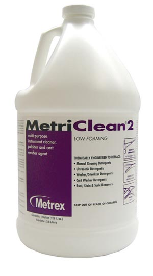 MetriClean 2, Gallons, 4/cs
