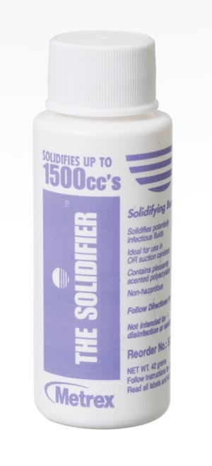 Metrex SD1500 Fluid Solidification System, 15K, Solidifies Up to 1500cc, 64 btl/cs