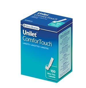 Unilet ComforTouch Lancet, 28G, 100/bx