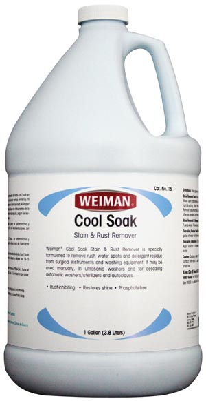 Micro-Scientific T-5 Cool Soak Stain & Rust Remover Gallon 4/cs  (Item is considered HAZMAT and cannot ship via Air)