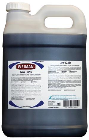 Micro-Scientific DM2.5C Low Suds Neutral Liquid Detergent Super Concentrate 2 1/2 Gallon 2/cs